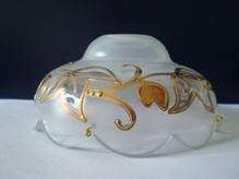 чашка с золотым рисунком №1