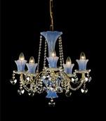 Подвесная люстра Голубой Preciosa Traditional AB 1085/02/005 (15 1085 005 07 82 00 35)