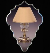 Настольная лампа Хрусталь Elite Bohemia Standart S 651/1/03