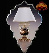 Настольная лампа Красный Elite Bohemia Standart S 522/1/37