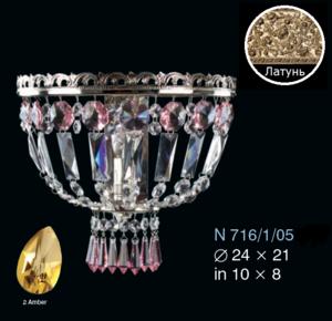 Бра Amber Elite Bohemia Standart N 716/1/05-2 Amber