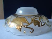 чашка с золотым рисунком №2