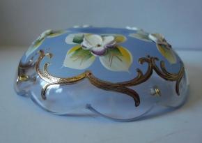 чашка смальта голубая №23
