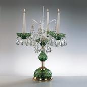 Настольная лампа Зеленый Elite Bohemia Standart S 620/3/19