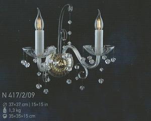 Бра Хрусталь Elite Bohemia Standart N 417/2/09