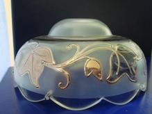 чашка с серебряным рисунком №5