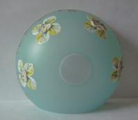 чашка смальта сине-зеленая  №52