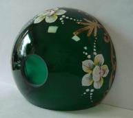чашка смальта зеленая №56