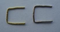 скрепка соединительная №6 (цвет никель и золото)