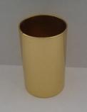 стаканчик металлический №6 (цвет золото)