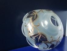 чашка с серебряным рисунком №7