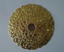 Металлический декоративный элемент №2