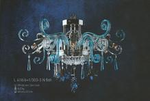 Подвесная люстра Голубая Elite Bohemia Standart L 418/6+1/303-3 fish