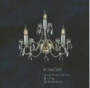 Бра Хрусталь Elite Bohemia Standart N 166/3/01