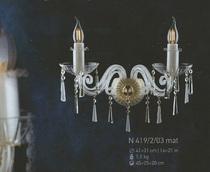 Бра Хрусталь Elite Bohemia Standart N 419/2/03 mat