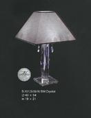 Настольная лампа Сирень Elite Bohemia Standart S 201/3/090N SW Crystal
