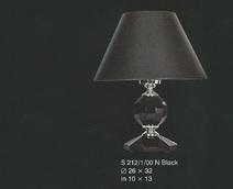 Настольная лампа Черный Elite Bohemia  S 212/1/00 N Black