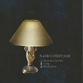 Настольная лампа Хрусталь Elite Bohemia Standart S 418/1/1203/2 shell