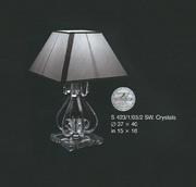 Настольная лампа Хрусталь Elite Bohemia Standart S 423/1/03/2 SW Crystals