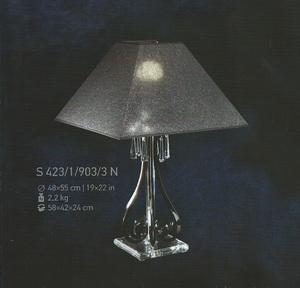 Настольная лампа Хрусталь Elite Bohemia Standart S 423/1/903/3