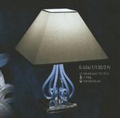 Настольная лампа Синяя Elite Bohemia  S424/1/130/3