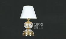 Настольная лампа Белый с золотом Elite Bohemia Standart S533/1/19