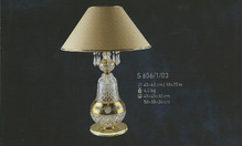 Настольная лампа Хрусталь Elite Bohemia Standart S656/1/03
